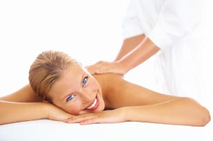 Smiling patient at Buckeye Healing Arts Therapeutic Massage therapy
